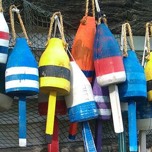 lobster-buoys
