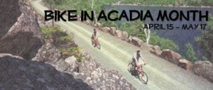 Bike in Acadia Month